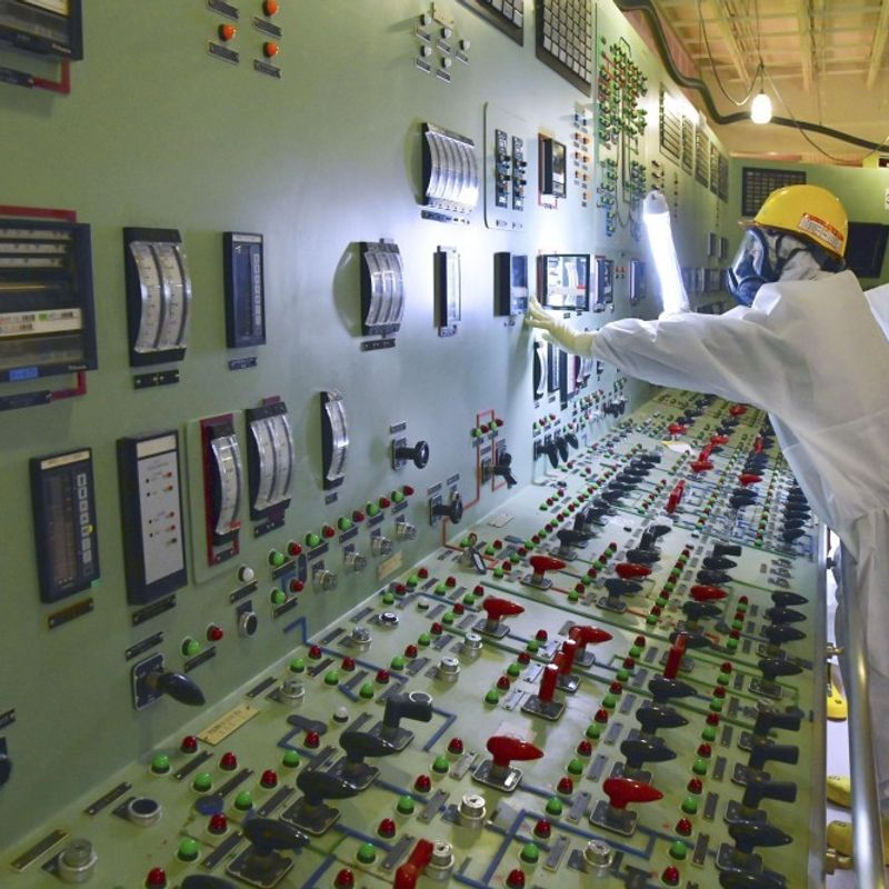Fukushima Daiichi control room revealed 7 yrs after meltdowns photo