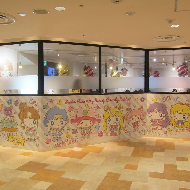 Sailor Moon x My Melody Cafe photo