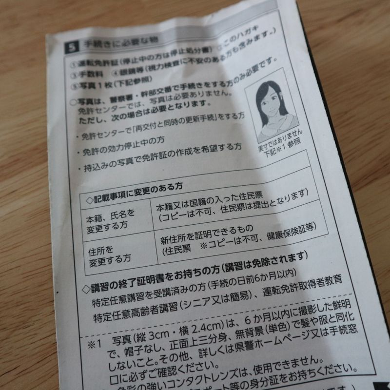 How to renew your Japanese driver license, and avoid an epic fail photo