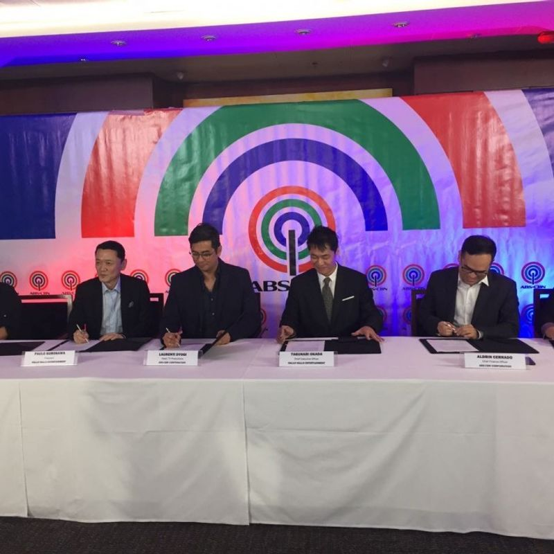 Partnership agreement signed for MNL48, Manila sister group of AKB48 photo