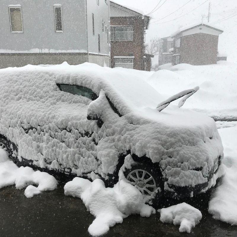 日本での雪の準備方法 photo