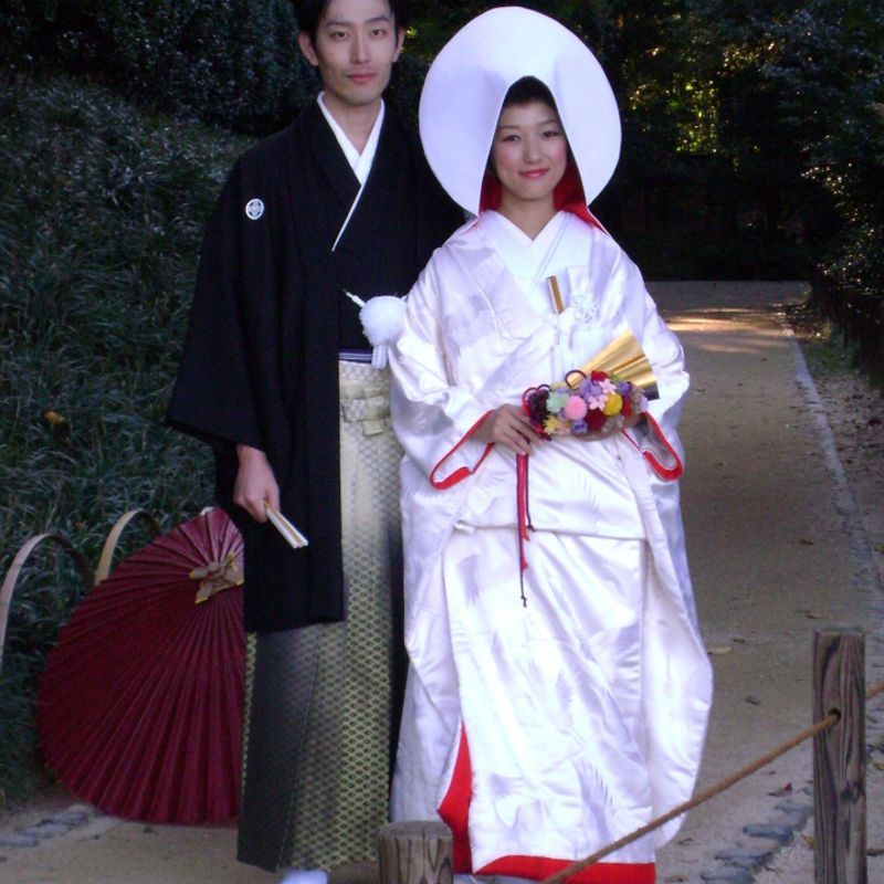 Japanese Bridal Kimonos photo