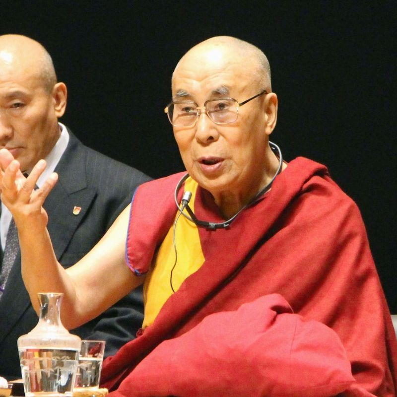 Dalai Lama cancels planned trip to Japan photo