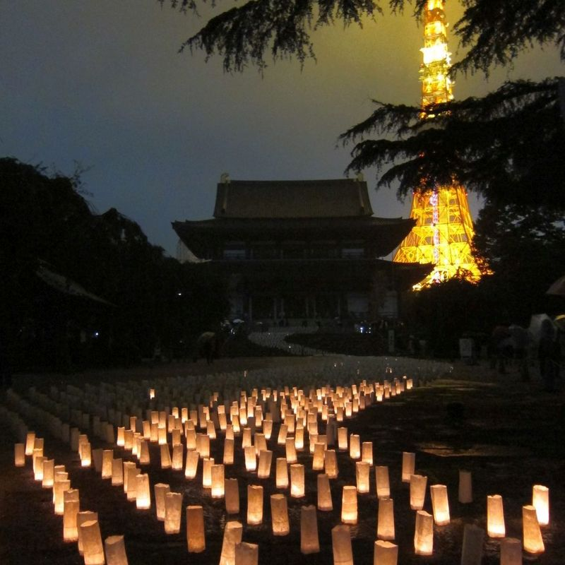 Beautiful lantern festivals in Tokyo photo