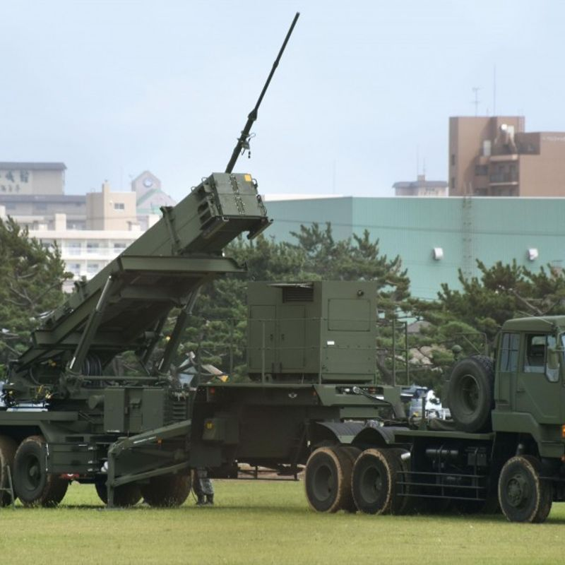Antimissile battery deployed in Hakodate after N. Korea missile tests photo