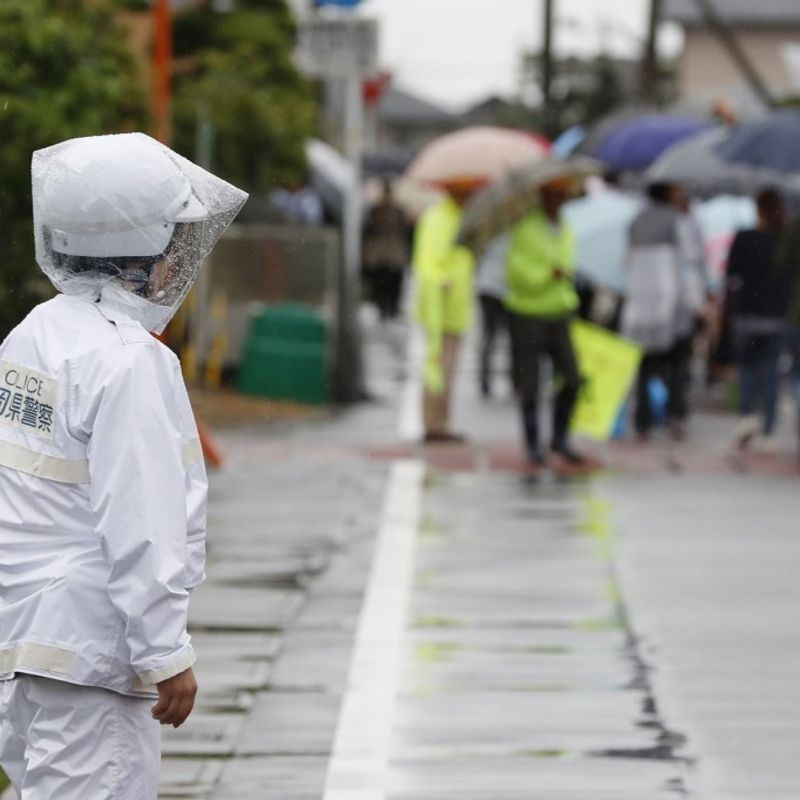9-yr-old boy suffers head injury in knife attack in central Japan photo