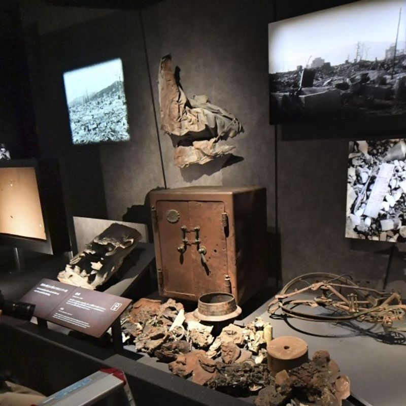 Hiroshima museum unveils new items of A-bomb victims photo