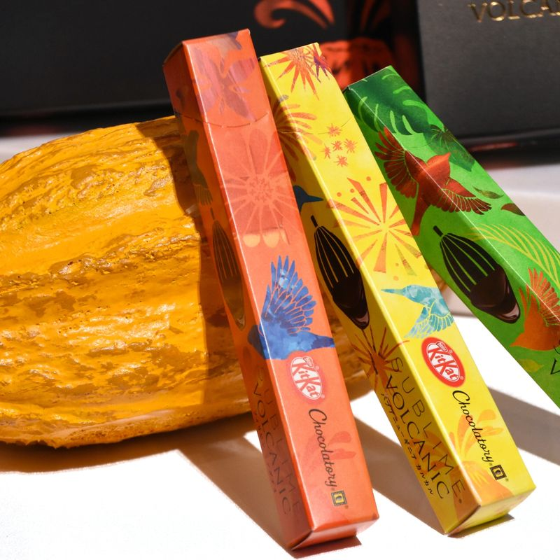 """Nestle Japan's latest KitKat, made from """"volcanic chocolate,"""" hits the shelves photo"""