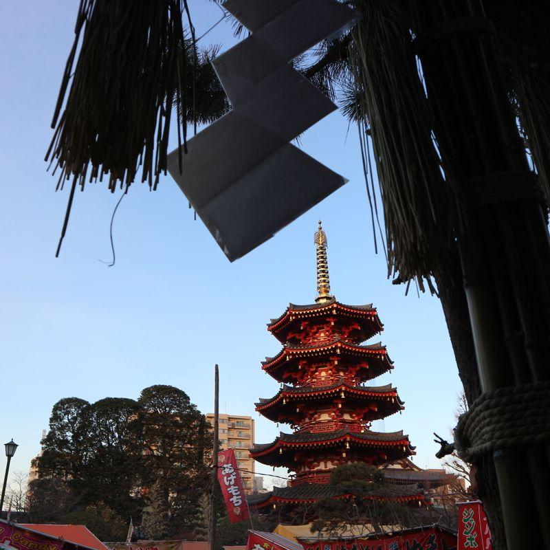 New Year / hatsumode at Kawasaki Daishi: Image gallery photo