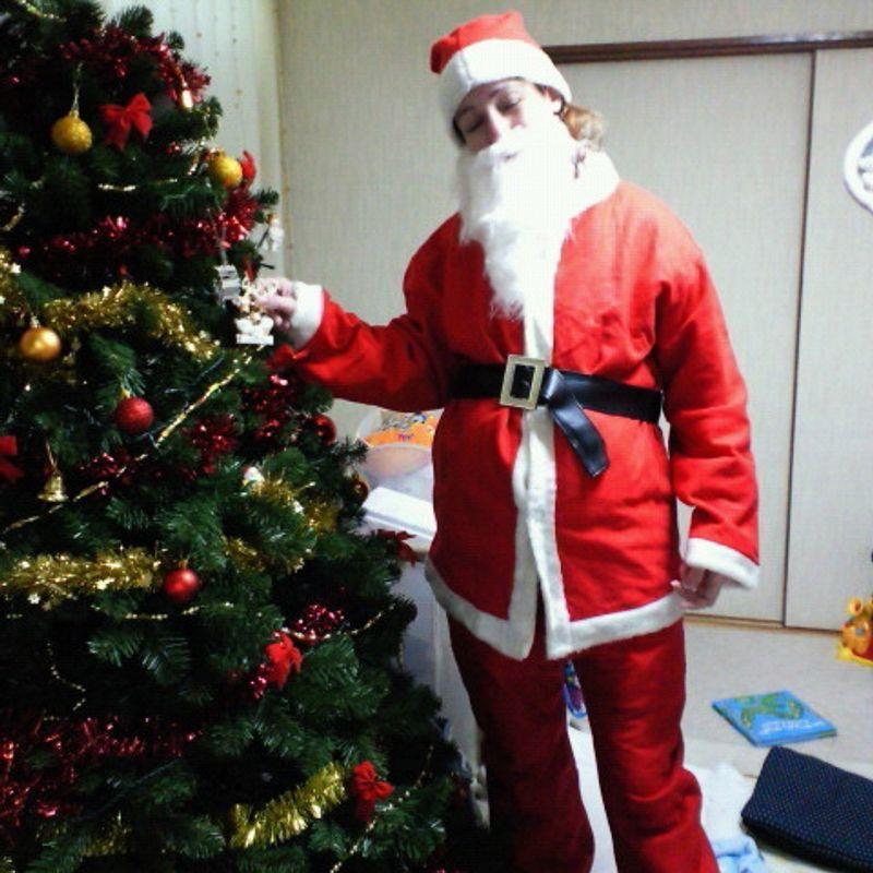 In search of Santa photo