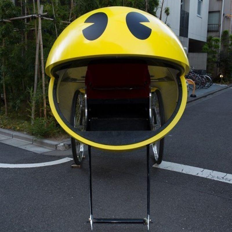 PAC-MAN and Asakusa combine to bring Christmas cheer to Tokyo. Really! photo