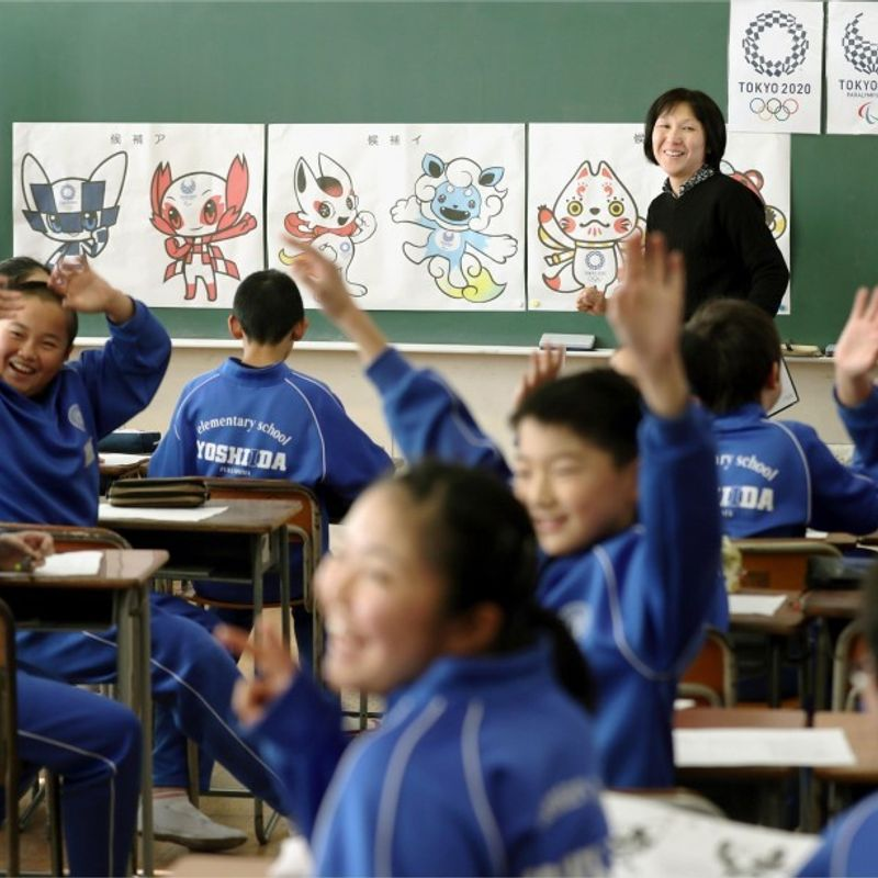 Kids cast their votes for Tokyo Olympics, Paralympics mascots photo