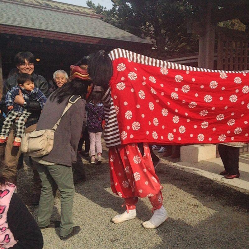 New Years Shrine Visits  photo