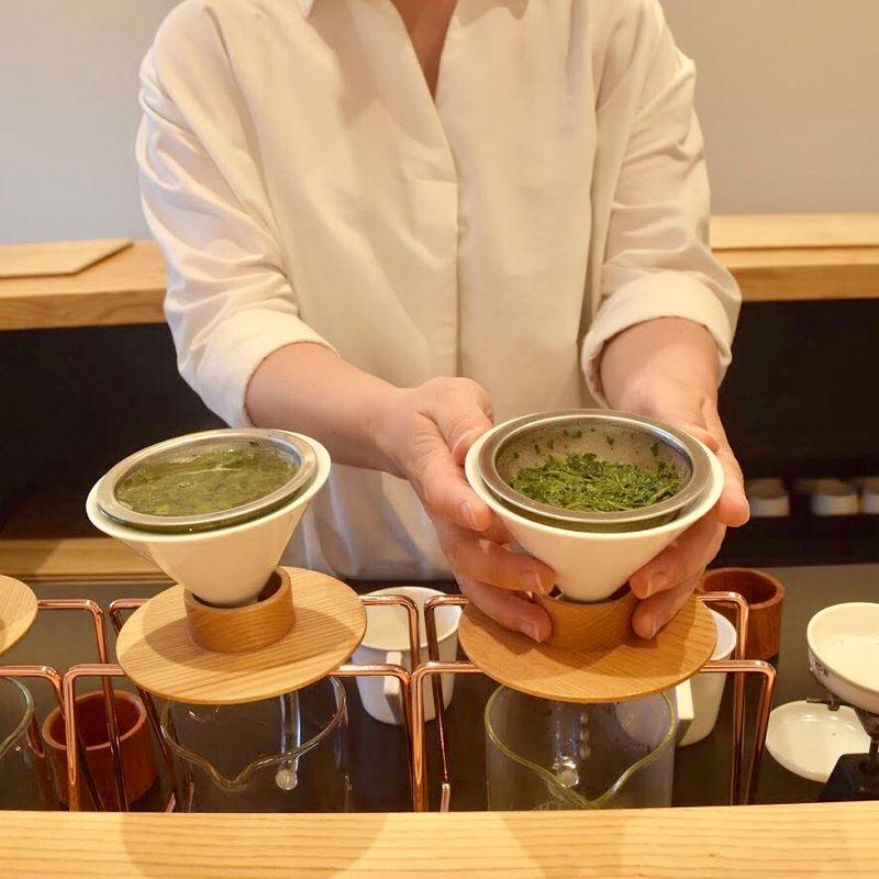 A trip to Tokyo Saryo to sample some Shizuoka Green Tea photo