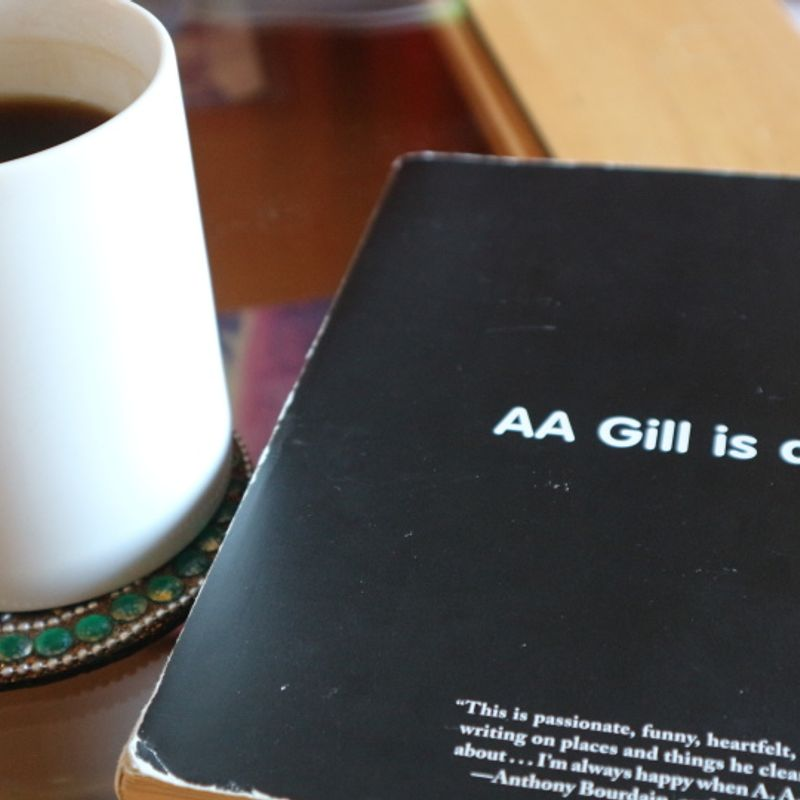 Books what I have read to me help me understand Japan: AA Gill is away photo