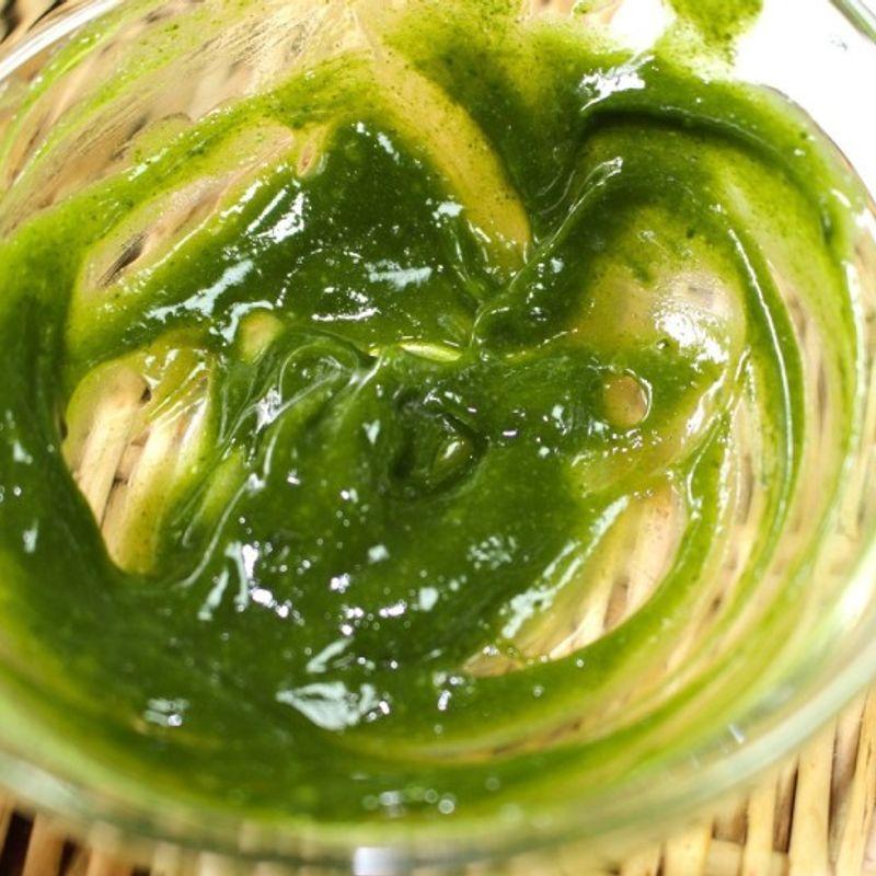 緑茶パックで美白効果を photo