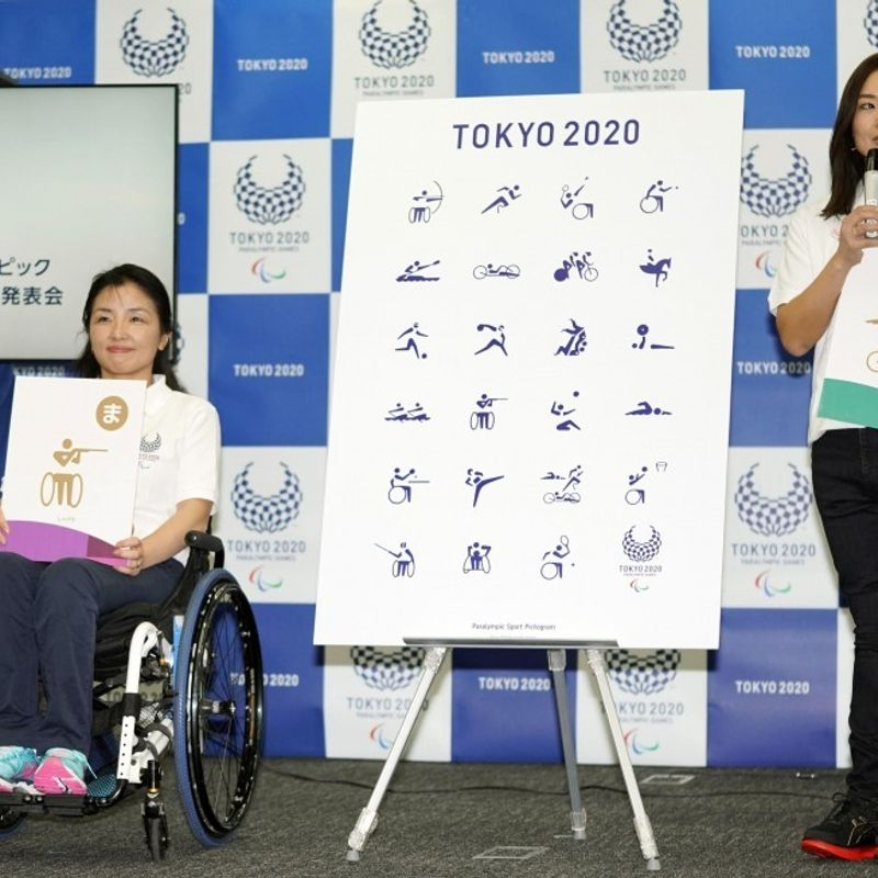 Paralympics: Sport pictograms for 2020 Tokyo Paralympics unveiled photo
