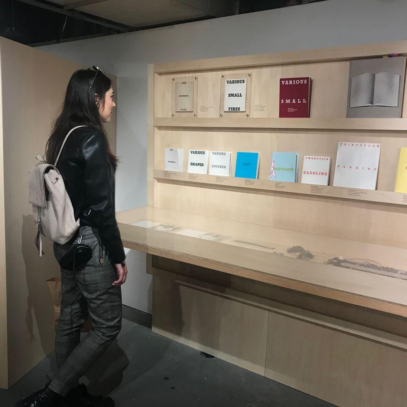 Book Vending Machine at Tokyo Art Book Fair photo