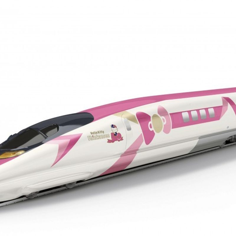 Hello Kitty bullet train to debut in Japan on June 30 photo