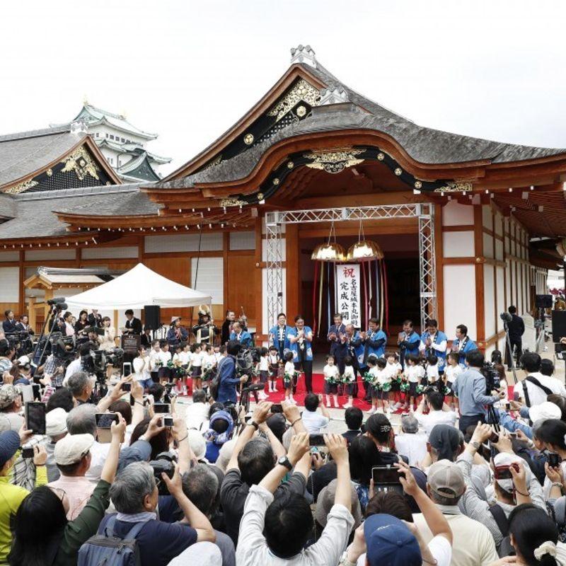 Lavish palace of Tokugawa shogun unveiled after 9-yr restoration photo