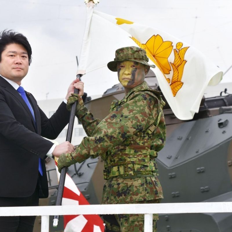 "Japanese ""Marines"" launched, but much work needs to be done photo"