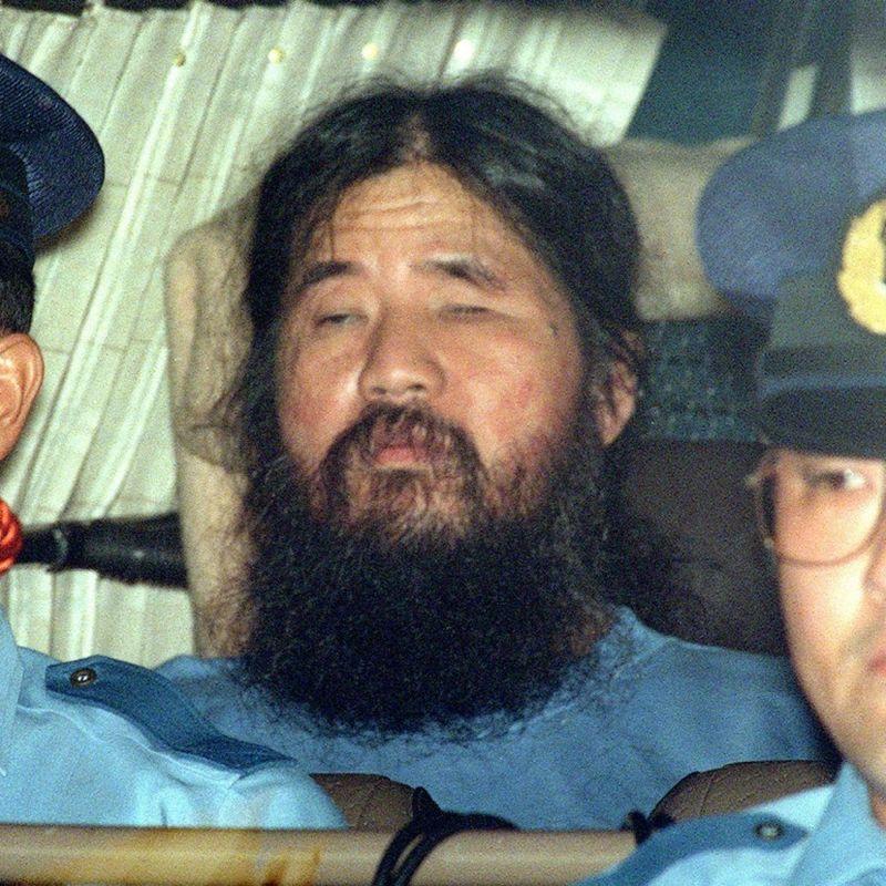 AUM founder Shoko Asahara, mastermind behind 1995 sarin gas attack, executed photo