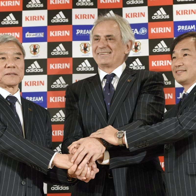 Football: Japan axes head coach Halilhodzic 2 months before World Cup photo