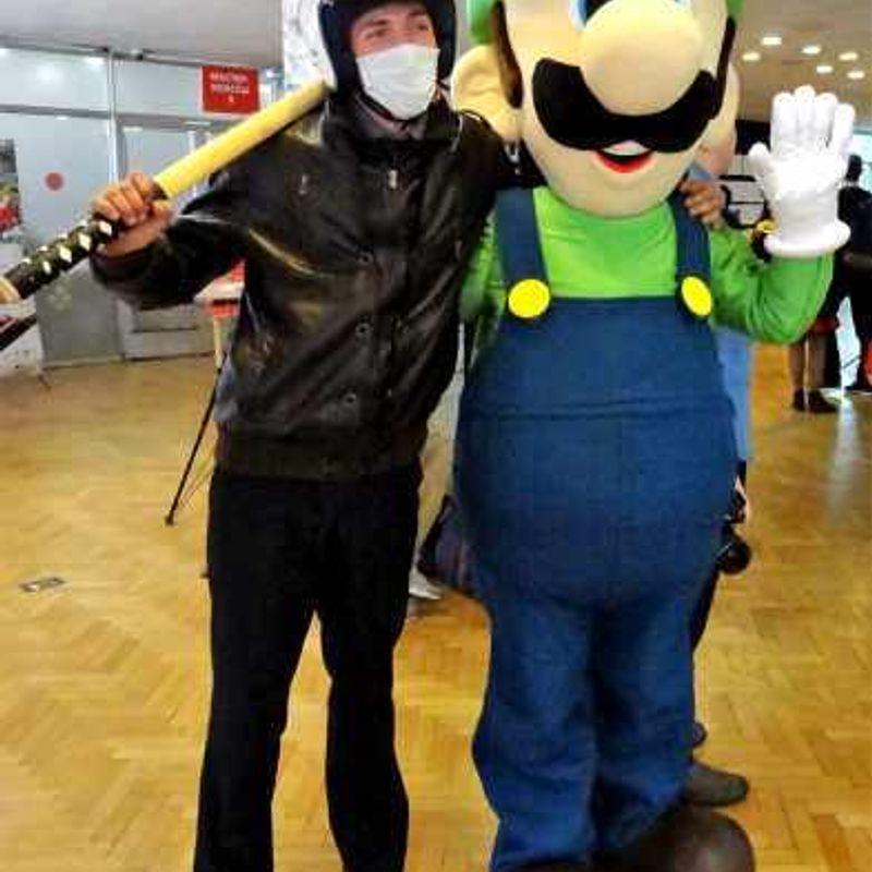 Japanese masked society photo