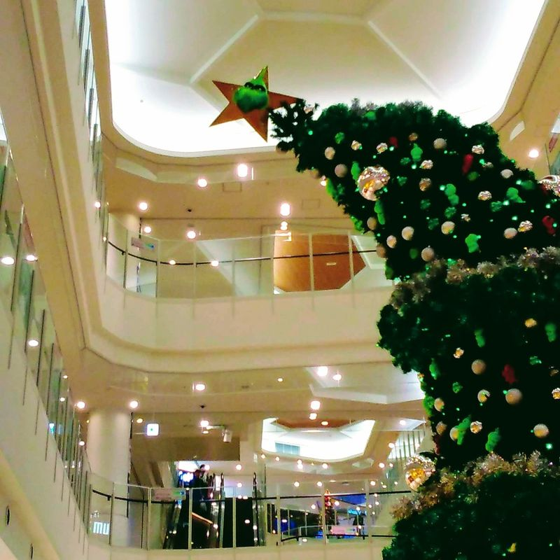 The Grinch Christmas Tree for the Scrooge of Japan's shopping malls photo