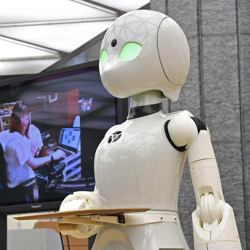 Tokyo cafe to open with robot waiters remotely controlled by disabled photo