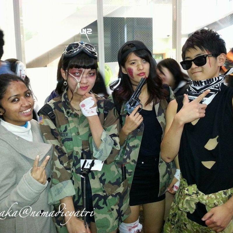 Ready for insanity ??? #HalloweenInJapan #nomadicyatri photo