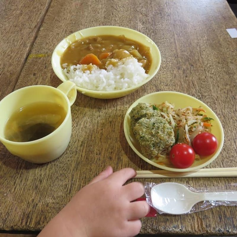 Kyuushoku restaurant, school lunch dining photo