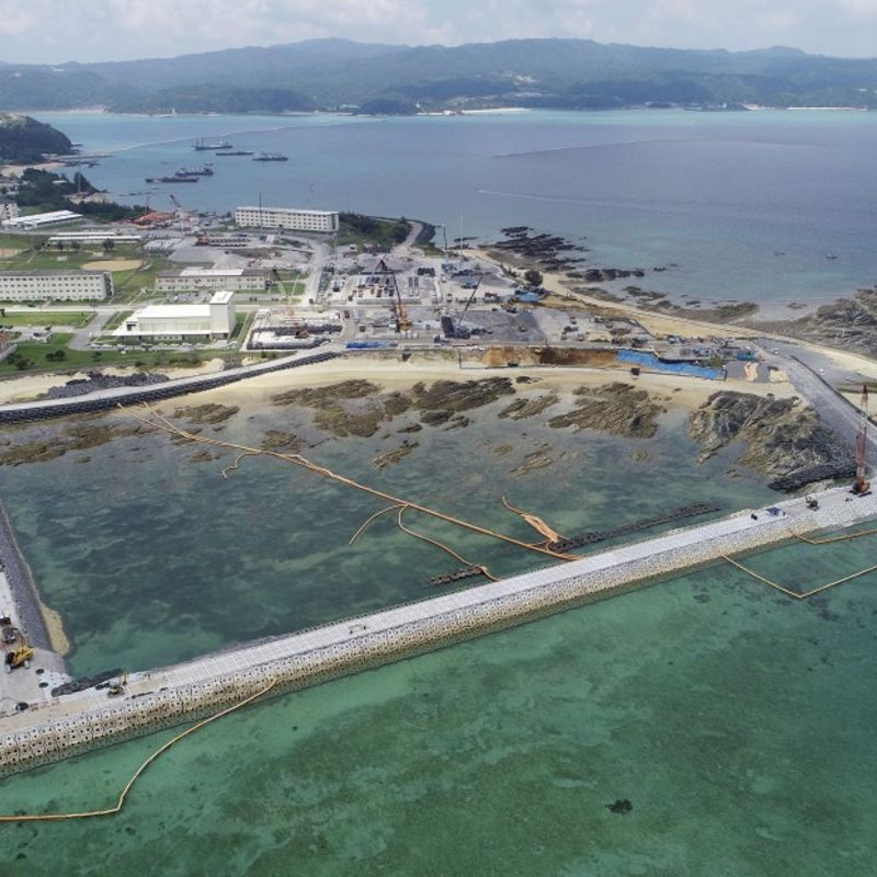 Japan to resume U.S. base construction as Okinawa's move suspended photo