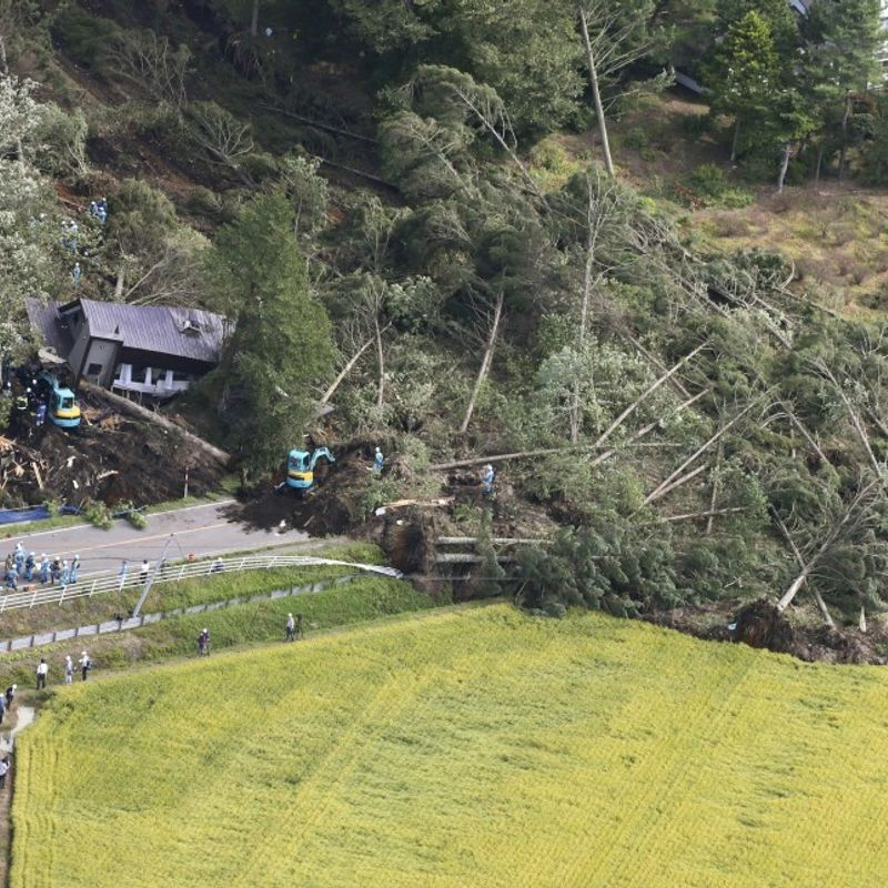 At least 9 dead, 300 injured as powerful quake jolts northern Japan photo