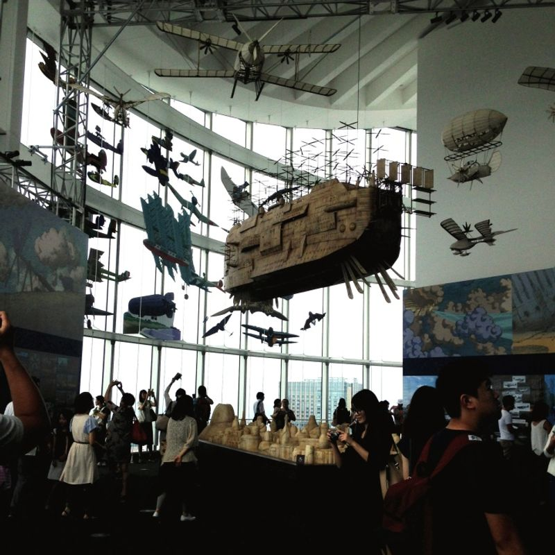 """Catch it while you can… """"Ghibli's Great Exhibition"""" photo"""