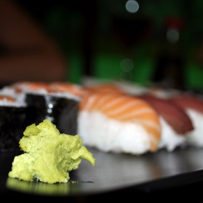 Sushi shop sorry for excessive amounts of wasabi served to foreigners photo
