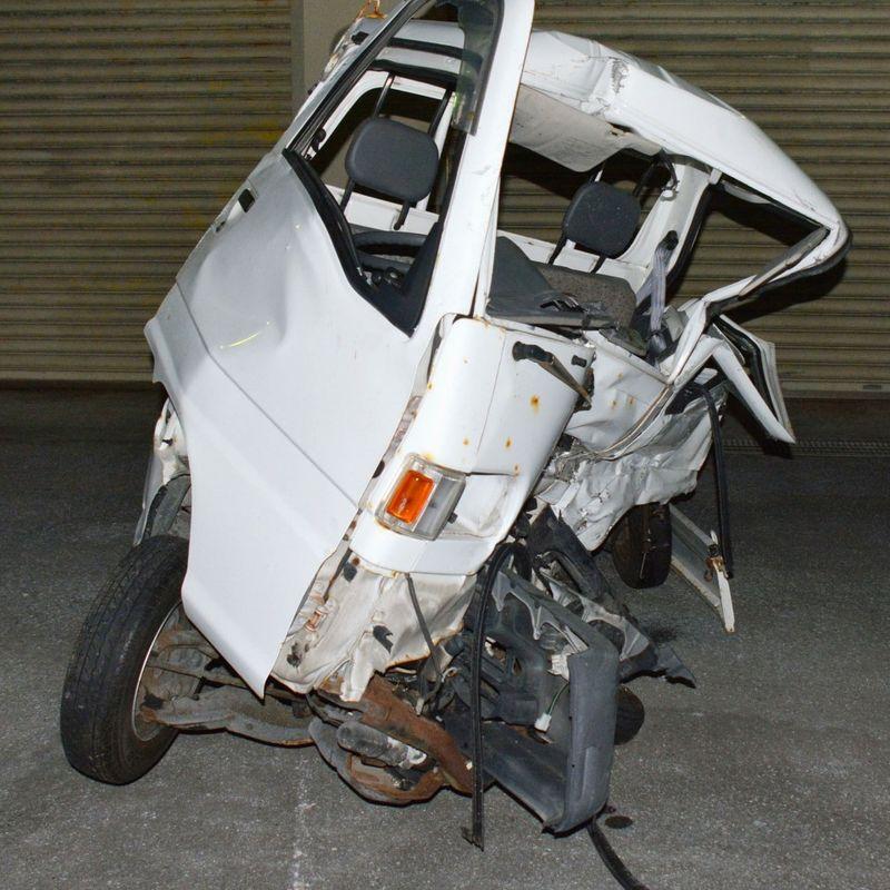 警察は沖縄の致命的な墜落事故後、米国の軍人からアルコールを検出 photo