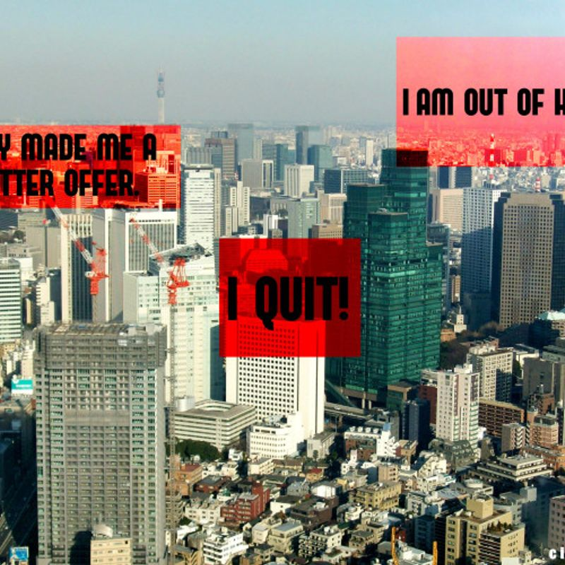 Quitting Your Job In Japan photo
