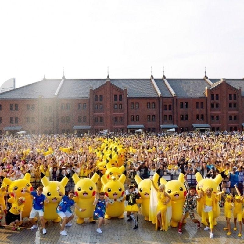 Yokohama braced for outbreak of 1,500 Pikachu, Summer 2017 photo
