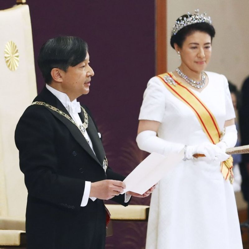 Over 82% feel affection for new emperor, 79% support woman on throne photo