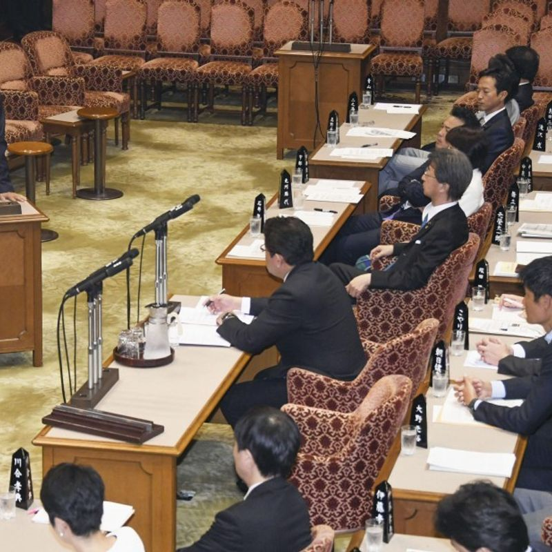 Shinzo Abe Cabinet support rate rises to 38.9% despite cronyism scandal photo