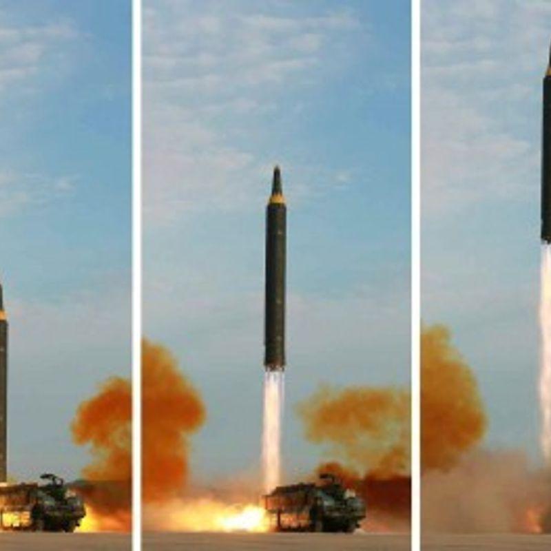 ラジオは、N韓国がミサイル打ち上げ準備の可能性を示唆している photo