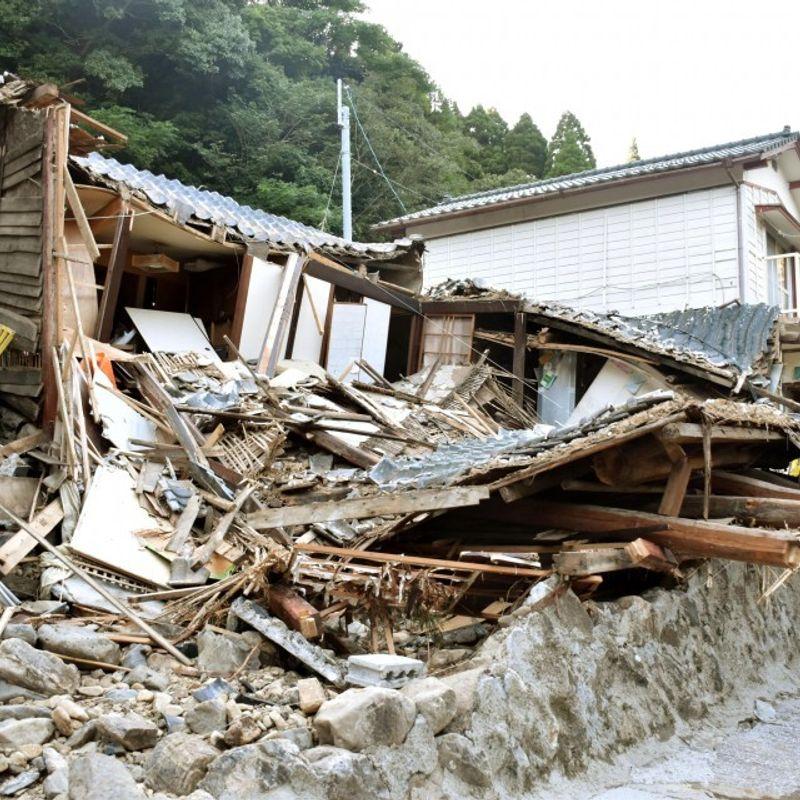 台風2人が死亡、3人が日本列島を打つ photo