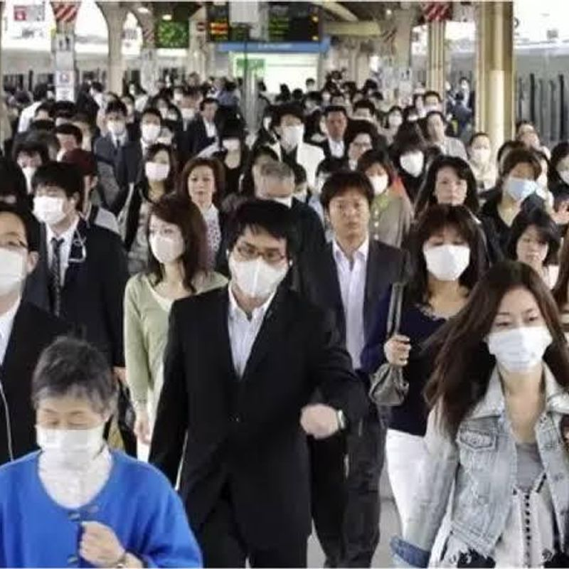 Why colds get spread out in Japan easily (I think) photo