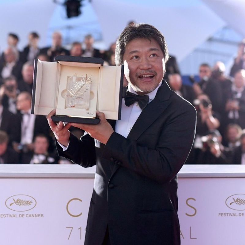 "Japan's Koreeda wins Cannes Palme d'Or for ""Shoplifters"" photo"