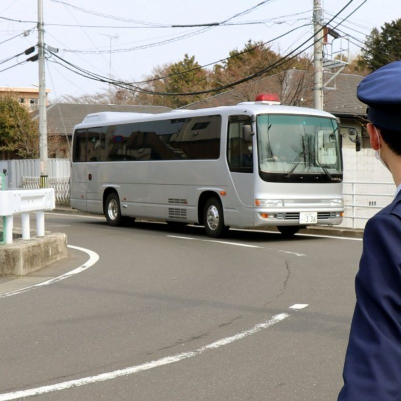 Death row AUM cult members moved from Tokyo detention center before execution photo