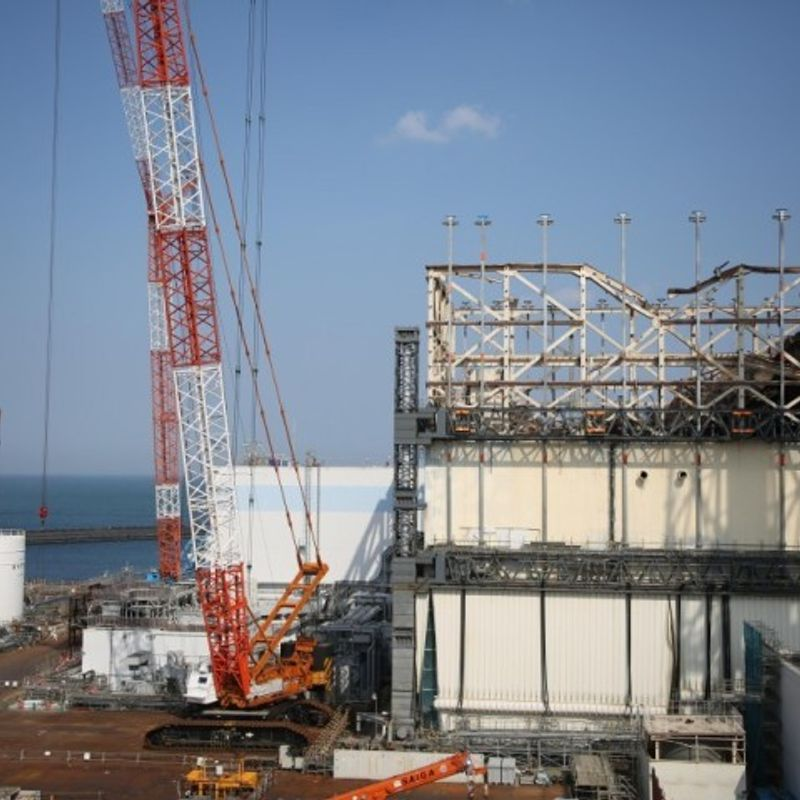 Debris could be removed from sides of Fukushima reactors photo