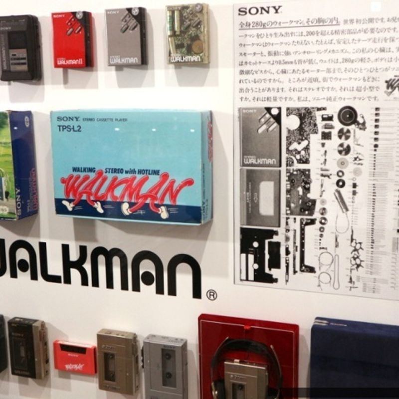 'It's a Sony' exhibit celebrates the end (and new beginning) of a Ginza icon photo