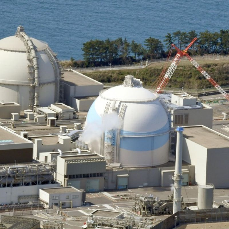 Trouble-hit nuclear reactor in southwestern Japan resumes operations photo