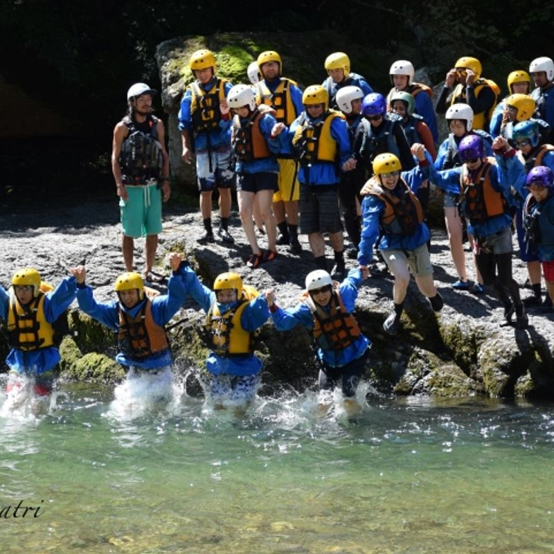 Dare Your Limits For Rafting In Tone River Gunma Prefecture #Summer in Japan photo